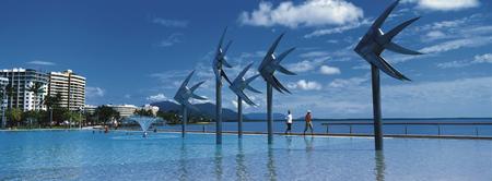 Lagune an der Cairns Esplanade