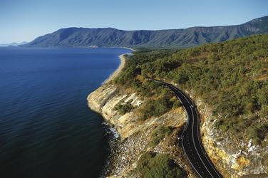 Straße nach Port Douglas
