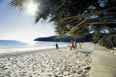 Am Strand von Noosa Heads
