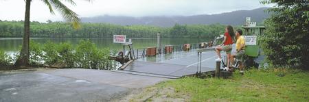 Kabelfähre am Daintree River