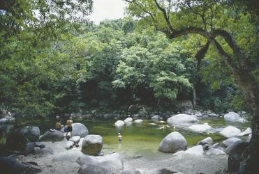 In der Mossman Gorge