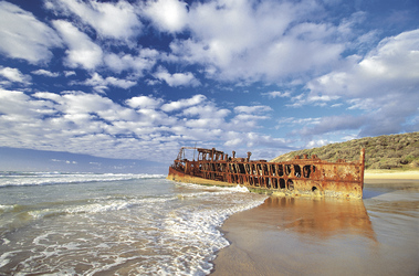 Maheno Schiffswrack, Fraser Island