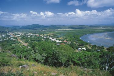 Ausblick auf Cooktown vom Grassy Hill