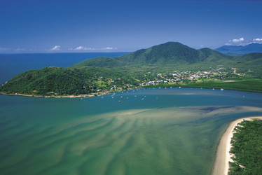 Blick auf Cooktown, ©Tourism Queensland Image Library