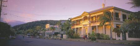Straßenszene in Cooktown