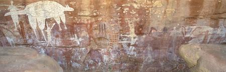 Aboriginal Felsmalereien im Quinkan Country