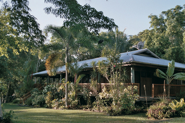 Mungumby Lodge, Haupthaus