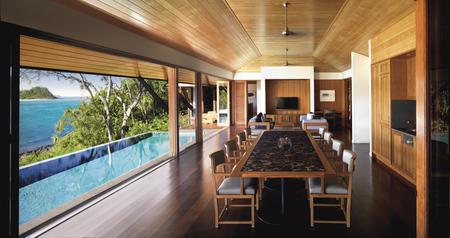Essbereich im Beach House, ©Apple