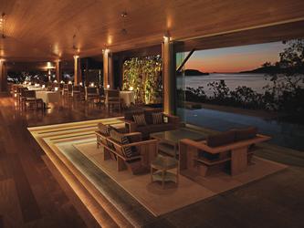 Abendstimmung im Long Pavilion