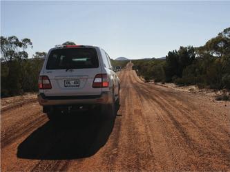 Auf Outbackpisten unterwegs