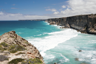 Great Australian Bight Felsküste