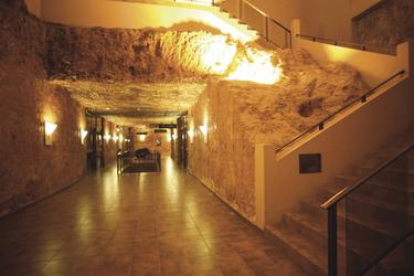 Korridor im Hotel