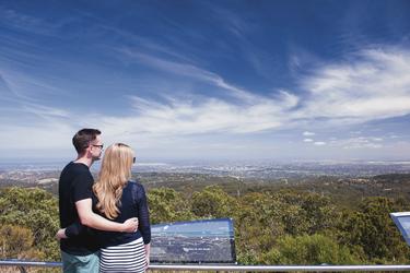 Mount Lofty Aussichtspunkt , ©SATC