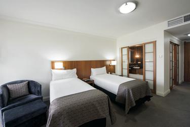 Superior-Zimmer - hier mit Einzelbetten