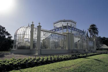 Palmenhaus im Botanischen Garten Adelaide