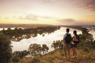 Blick auf den Murray River