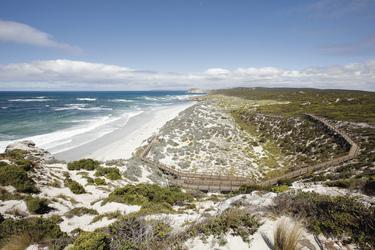 Blick auf die Seal Bay