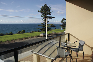 Meerblick-Zimmer mit Balkon