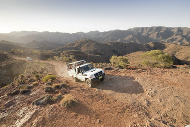 Allrad Ridgetop Tour Flinders Ranges ©SATC