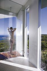 Dusche mit Rund um Sicht