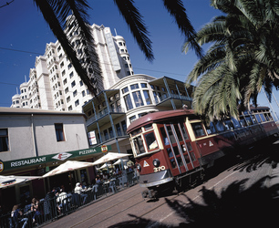 Tram in Glenelg