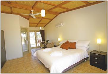 Mungo Lodge, Zimmerbeispiel