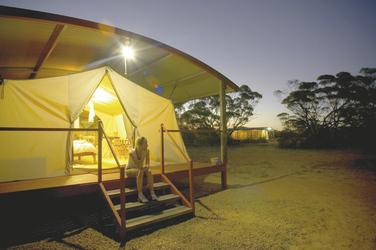im Kangaluna Camp