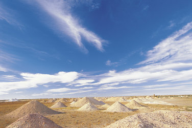 Landschaft in Coober Pedy