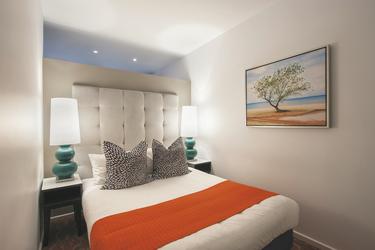 Separates Schlafzimmer im Apartment