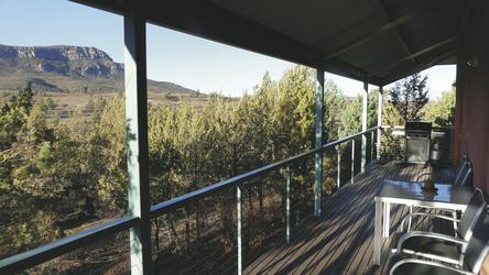 Eco Villa: Außen-Deck
