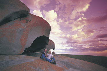 An den Remarkable Rocks, Kangaroo Island