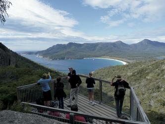 Wineglass Bay Aussichtspunkt