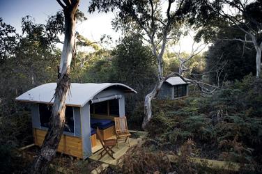 Unterkunft im Wilderness Camp , ©2011 Matthew Newton