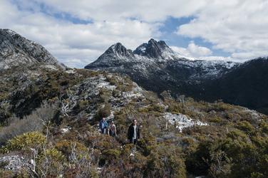 Wandern am Cradle Mountain ©Aran Price