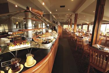 Buffet im Hilltop Restaurant