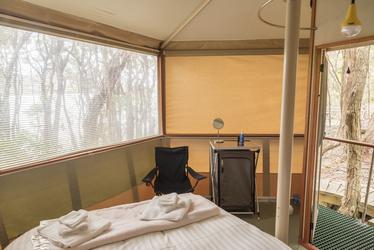 Innenansicht einer Cabin, ©@Paul Flemming