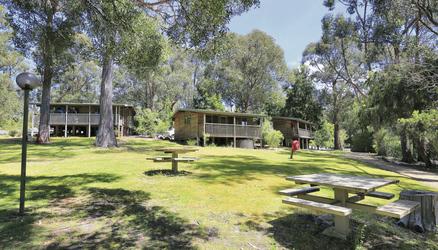 Bungalows der Stewart Bay Lodge