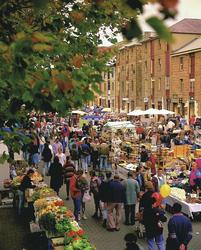 Salamanca Markt in Hobart