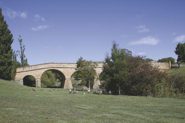 Historische Brücke in Richmond