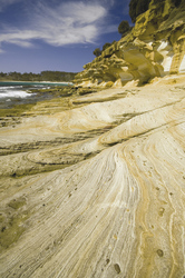 Painted Cliffs beim Maria Island Walk