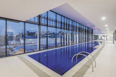 Indoor Pool, ©Hamilton Lund