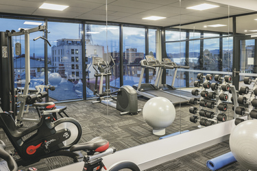 Fitnessraum, ©Hamilton Lund