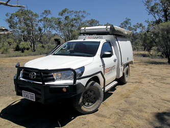 RedSands 4WD Camper