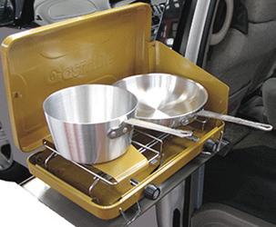 Praktischer Gaskocher