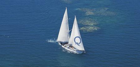 Ocean Free Segelschiff unterwegs