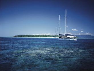 Segelschiff vor Green Island