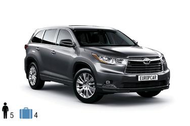 Gruppe F (GFAR), Toyota Kluger o.ä.