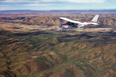 Auf Flug-Safari