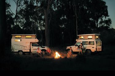 Camper & Campfire