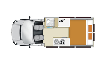 Apollo Euro Tourer: Nacht-Layout